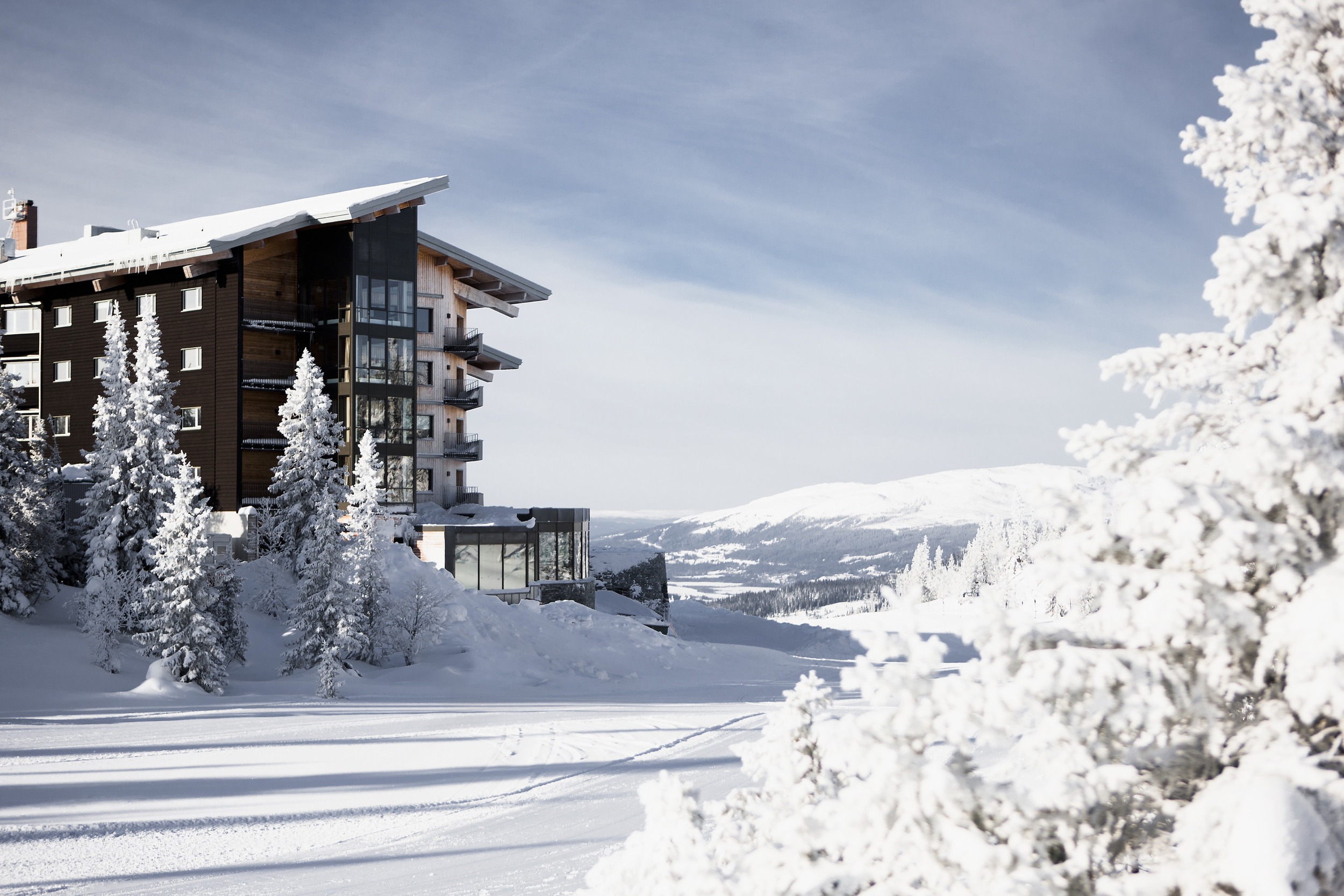Copperhill Mountain Lodge is one of the most beautiful hotels in the region.