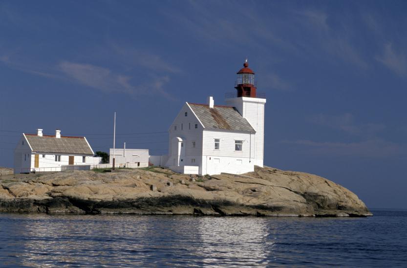 Terningen lighthouse.