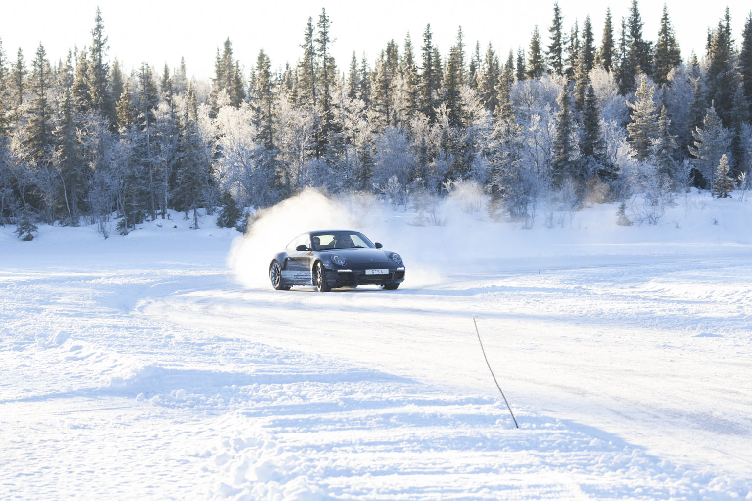 På 4 hjul på isen