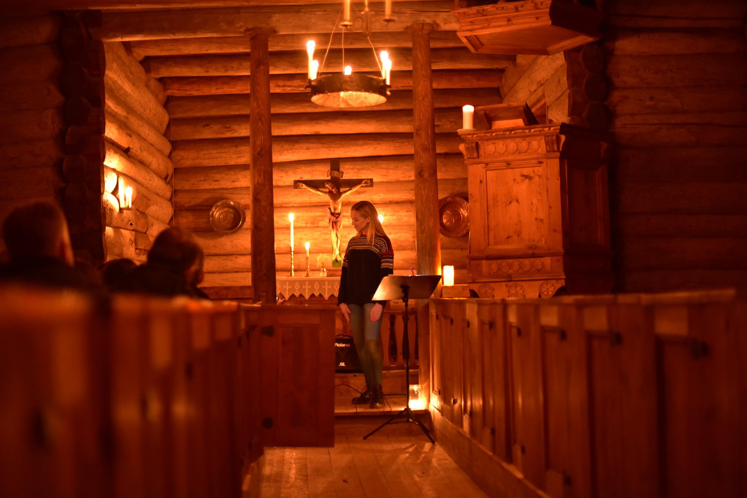 Intimkonsert på Sverresborg