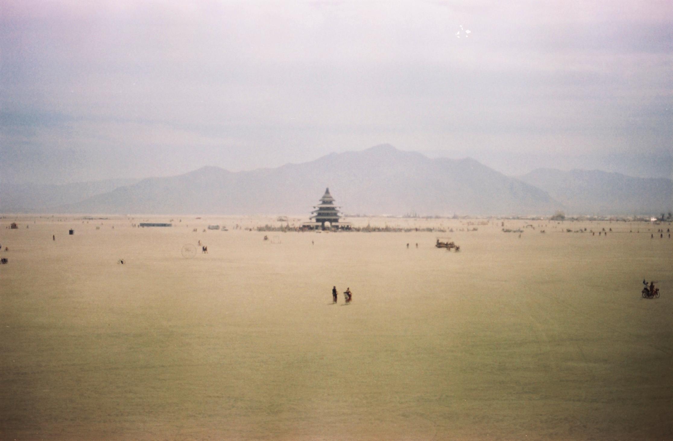 Temple pilgrims