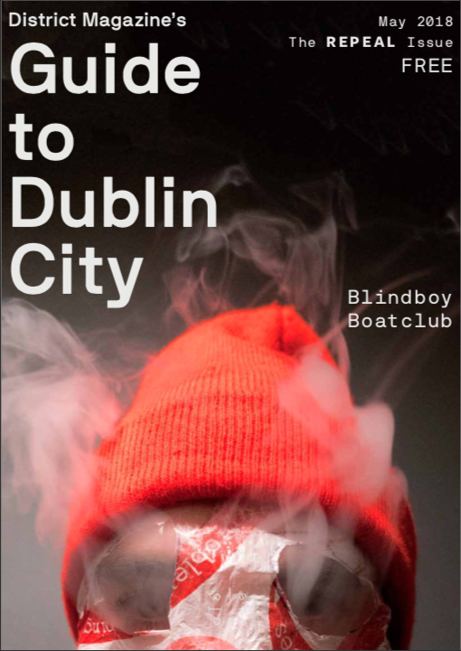 BLINDBOY BOATCLUB, GUIDE TO DUBLIN CITY, COVER