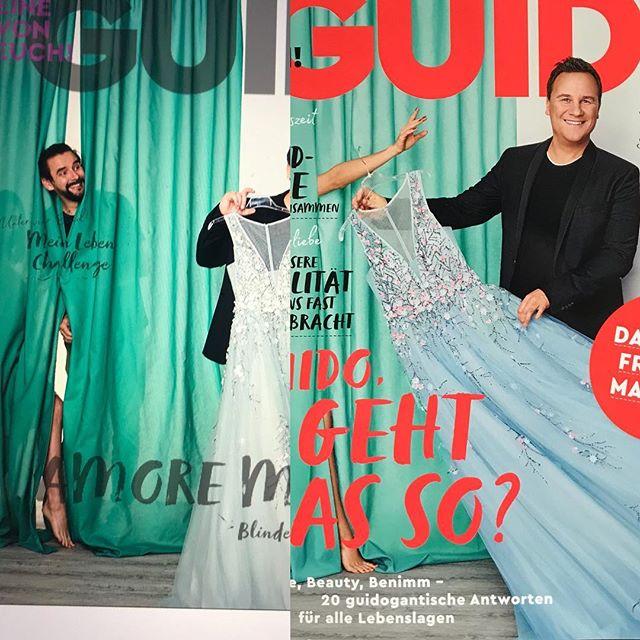 #guidomagazin #guidomariakretschmer #manbehindthecurtain #fotoshooting #lovemyjob #cover