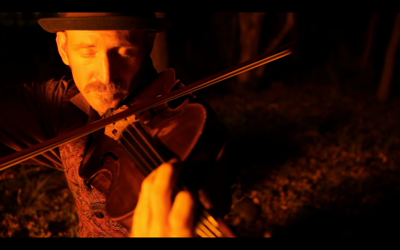 "Still frame from Diek's film ""Upon the Awful Tree""  More info in Film tab."