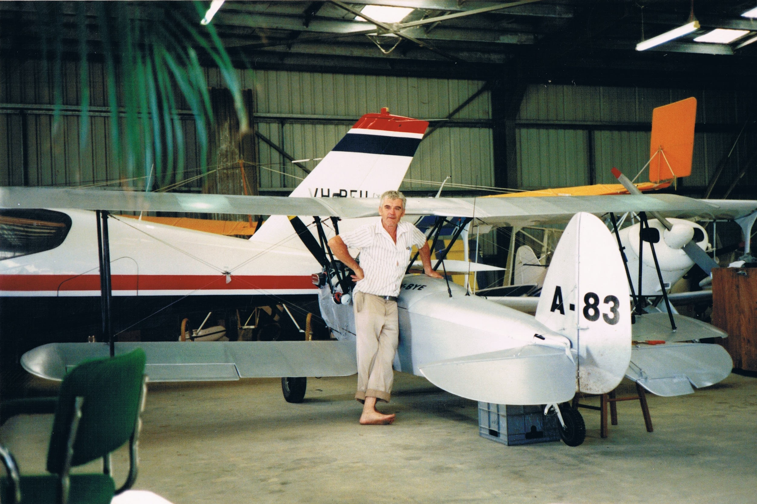 Barry Hughes Australia Biplane