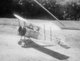 Barry Hughes Model Biplane
