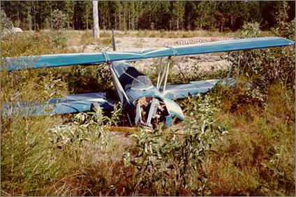 To y Hughes Plane Crash