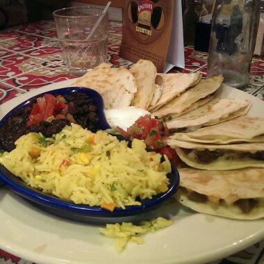 Quesedila  Salad @ Chili's