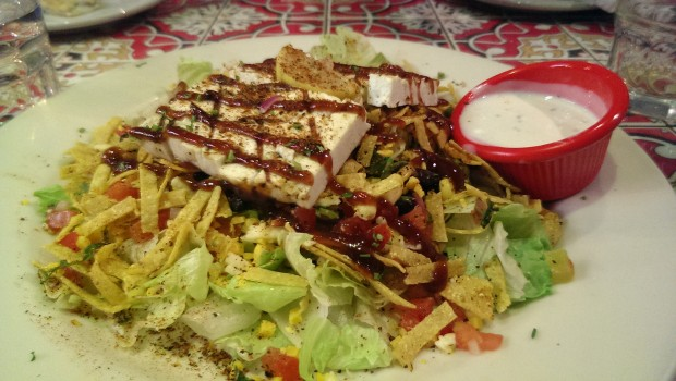 BBQ Paneer Salad @ Chili's