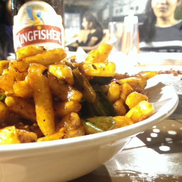 Crispy Potato @ Princess, NSCI, Haji Ali