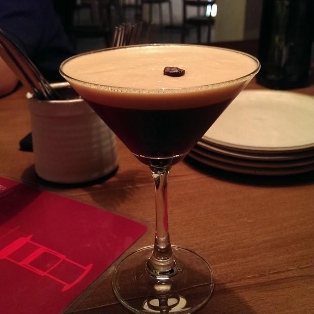 Espresso Smartini @ Zen Cafe, Lower Parel