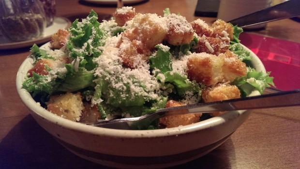 Caesars Salad @ Zen Cafe, Lower Parel