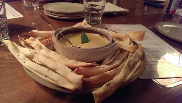 Hummus Platter @ Zen Cafe, Lower Parel