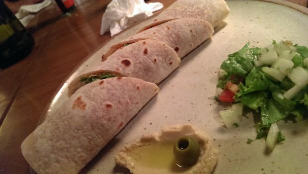 Falafel Wrap @ Zen Cafe, Lower Parel