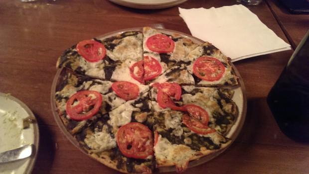 Pizza Al Pesto @ Zen Cafe, Lower Parel