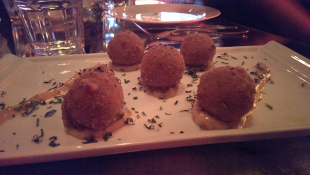 Jalapeno Cheese Poppers @ The White Owl Brewery and Bistro, Lower Parel