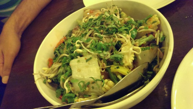Make your own Stir Fry @ Lemon Grass, Bandra
