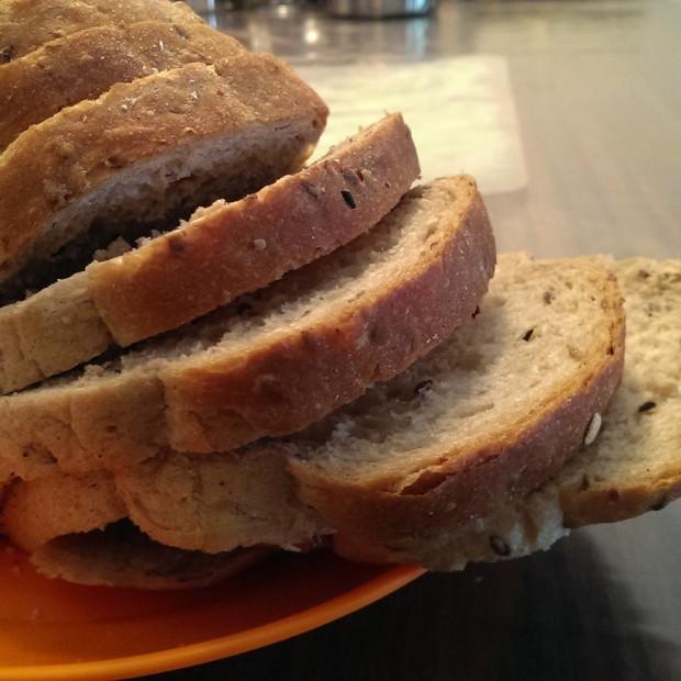 Fresh Loaf of Danz Bread