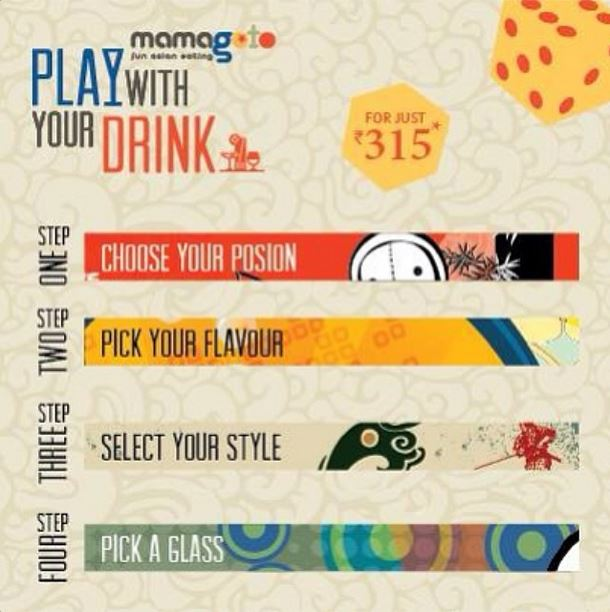 Play with your drink @ Mamagoto