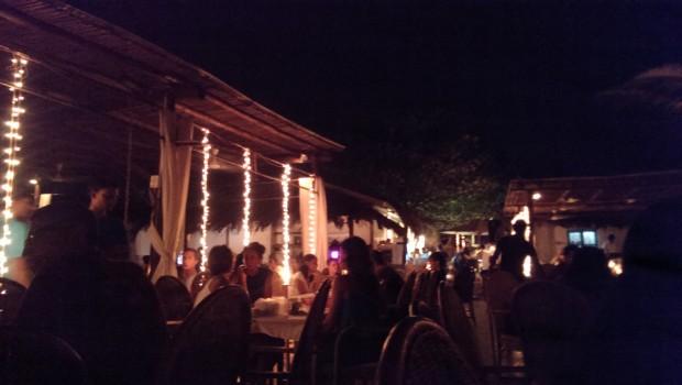 Twinkling lights @ Thalassa, Goa