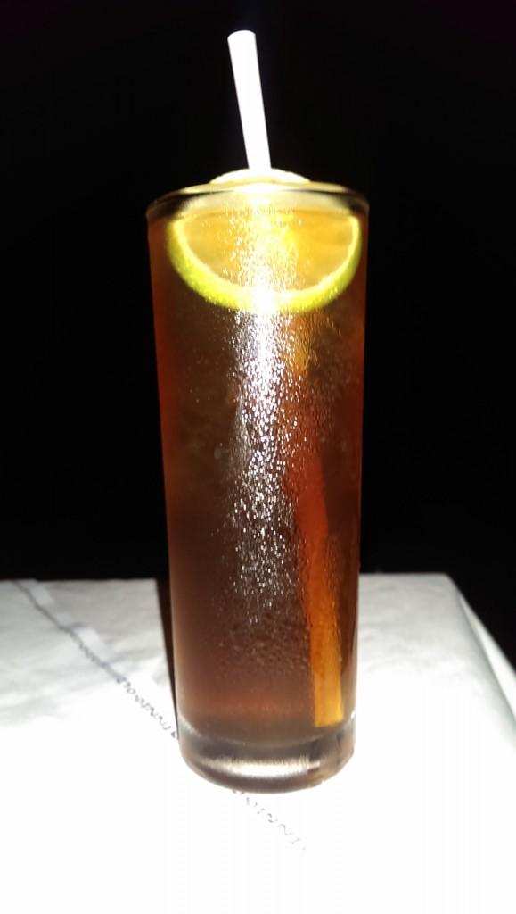Lemon Iced Tea @ Thalassa, Goa