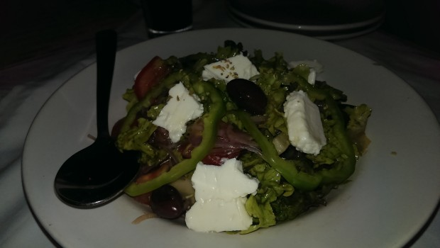 Feta Salad @ Thalassa, Goa