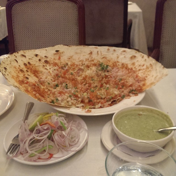 Crispy Roomali Roti @ Jewel of India, Worli