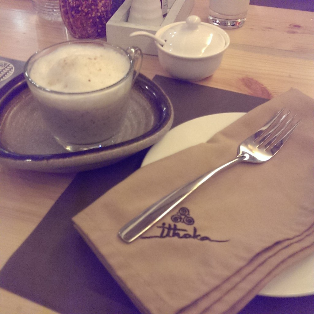 Mushroom Cappuccino @ Ithaka, Lower Parel