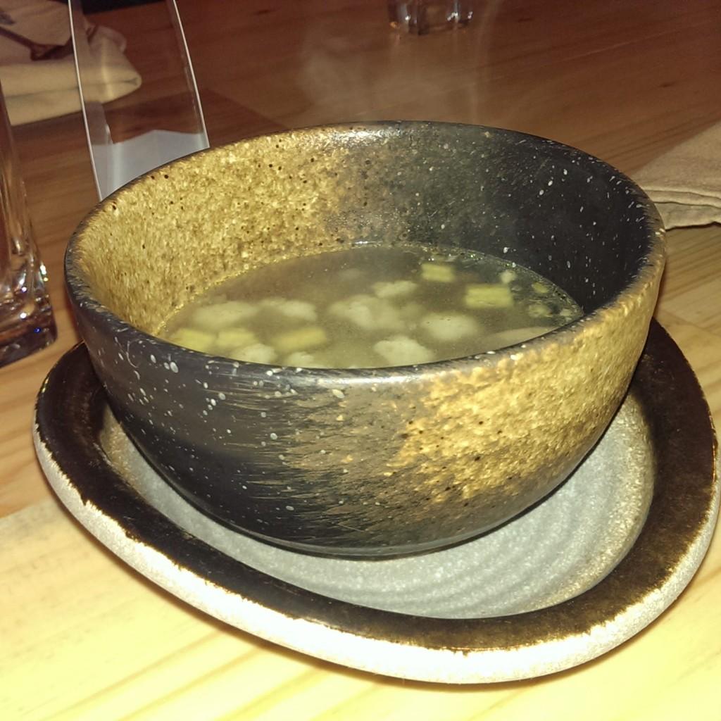 Lemon Grass Soup @ Ithaka, Lower Parel