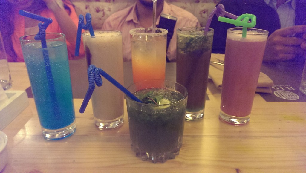 Mocktails aplenty @ Ithaka, Lower Parel