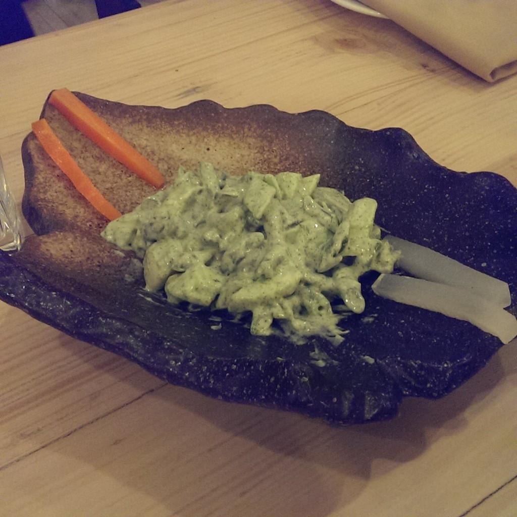 Mediterranean Mint Salad @ Ithaka, Lower Parel