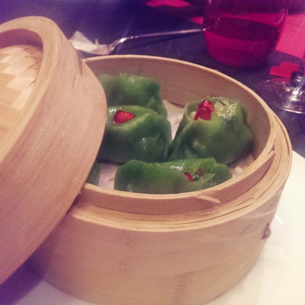 Chive Dumplings @ Spices, JW Marriott