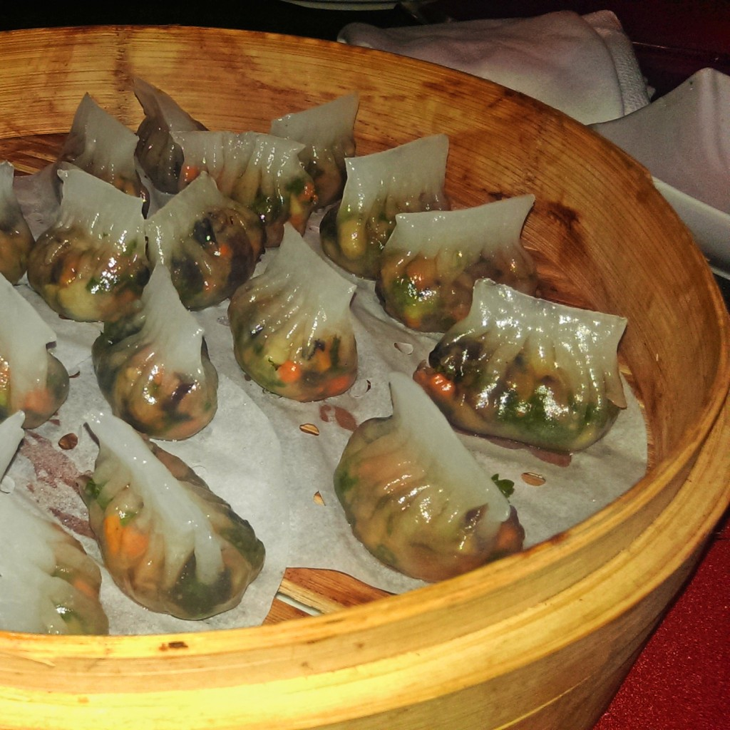 Veg Crystal Dumplings @ Spices, JW Marriott