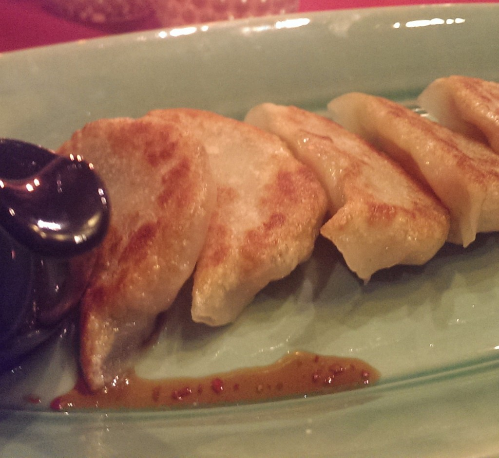 Pan Fried Dumplings @ Spices, JW Marriott