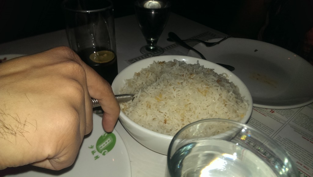 Burnt garlic fried rice @ China Garden, Kemps Corner