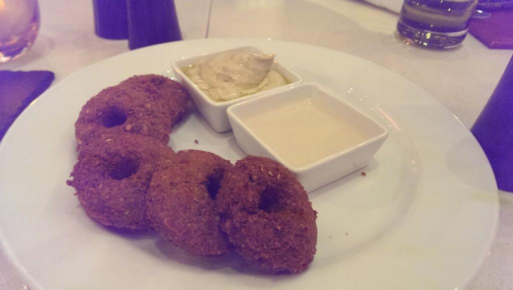 Falafel Bullets @ JW Cafe, JW Sahar