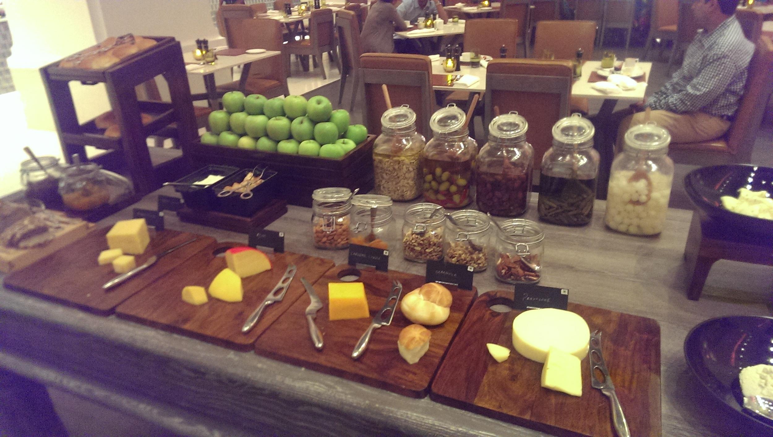 Fresh Cheese anyone? @ JW Cafe, JW Sahar