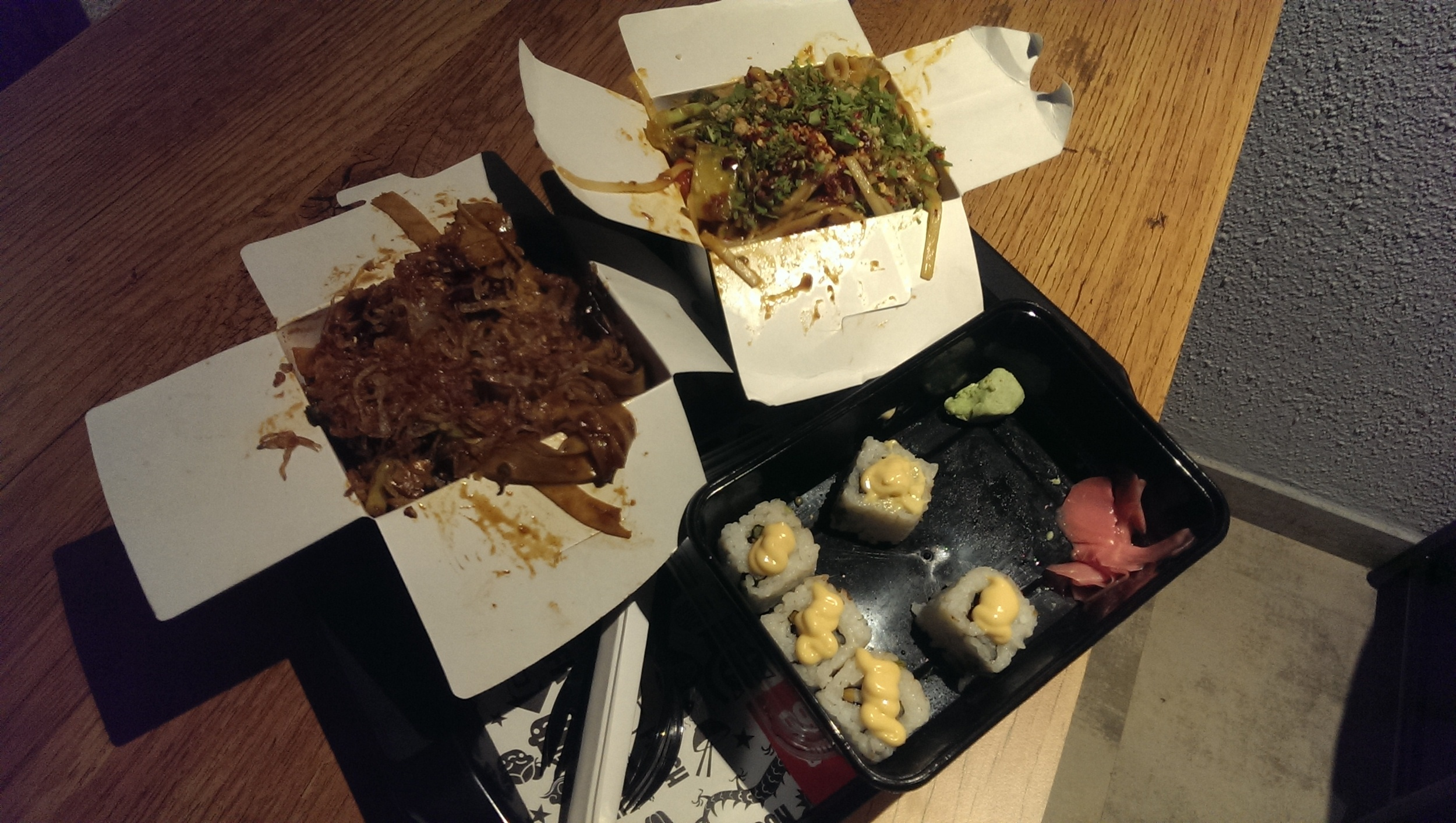 Woks and Sushi @ Wok Express, Kemps Corner