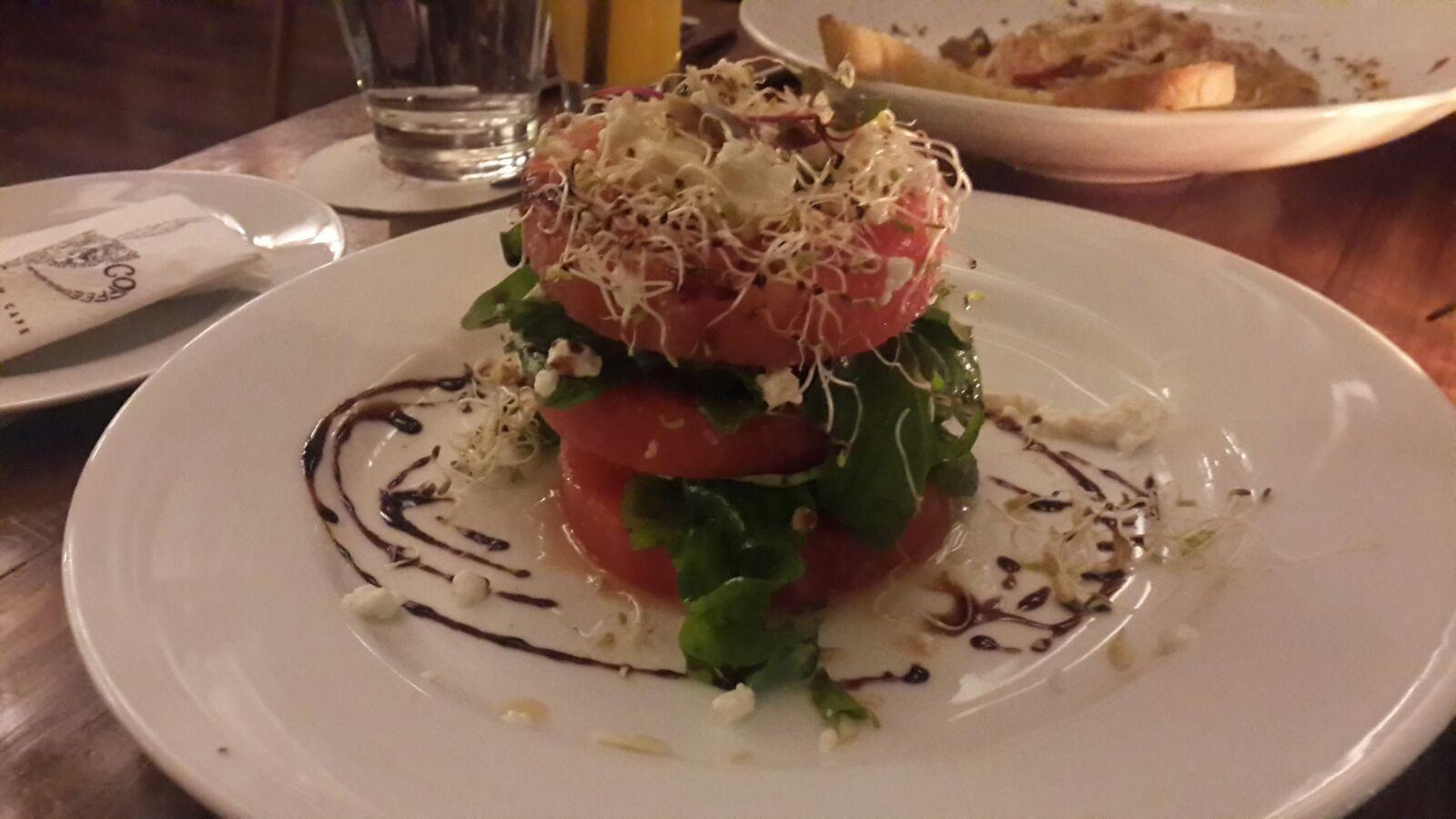 Watermelon Feta Salad @ Silver Beach Cafe, Fort