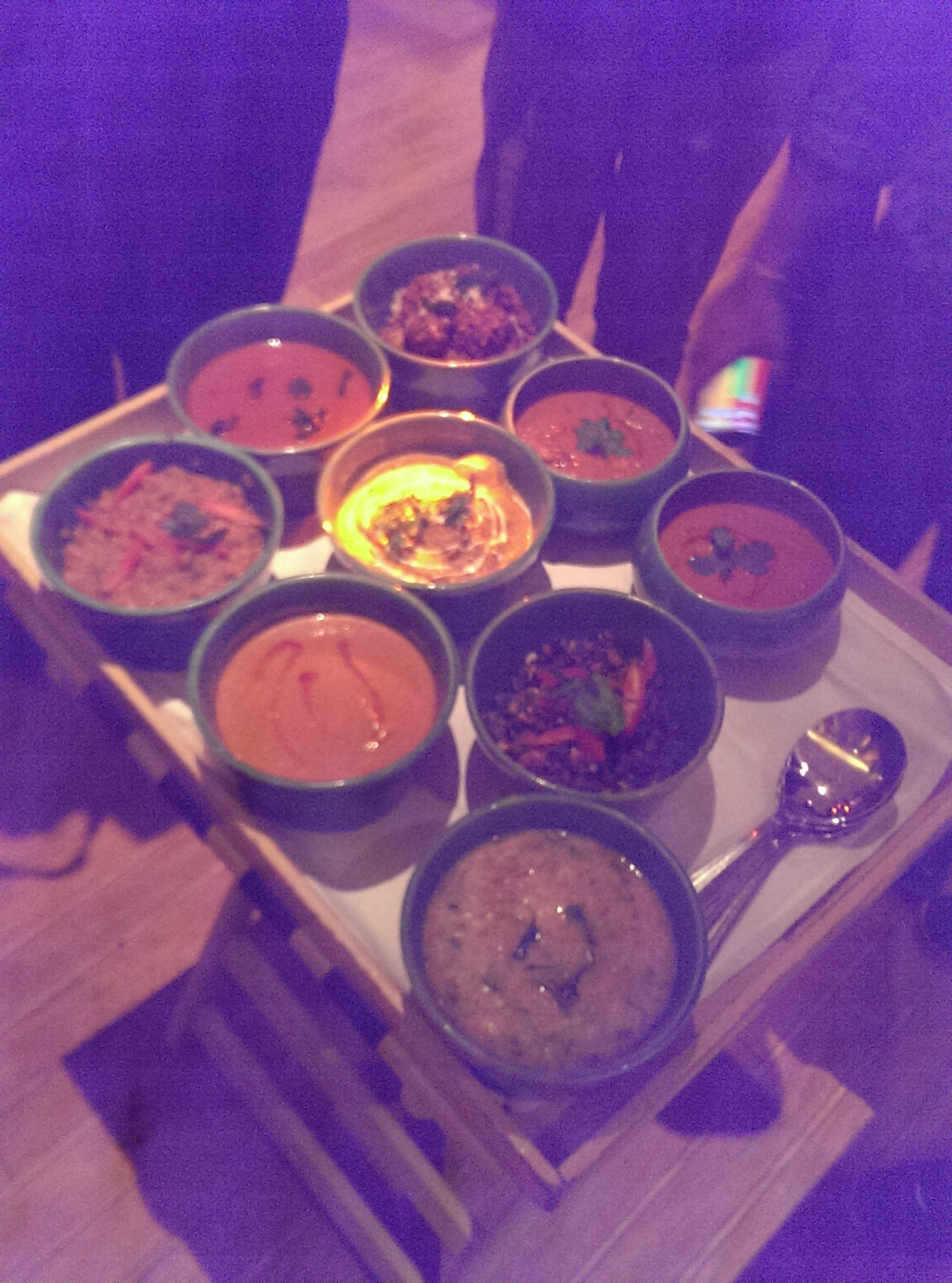 Various Curries @ Soma, Grand Hyatt