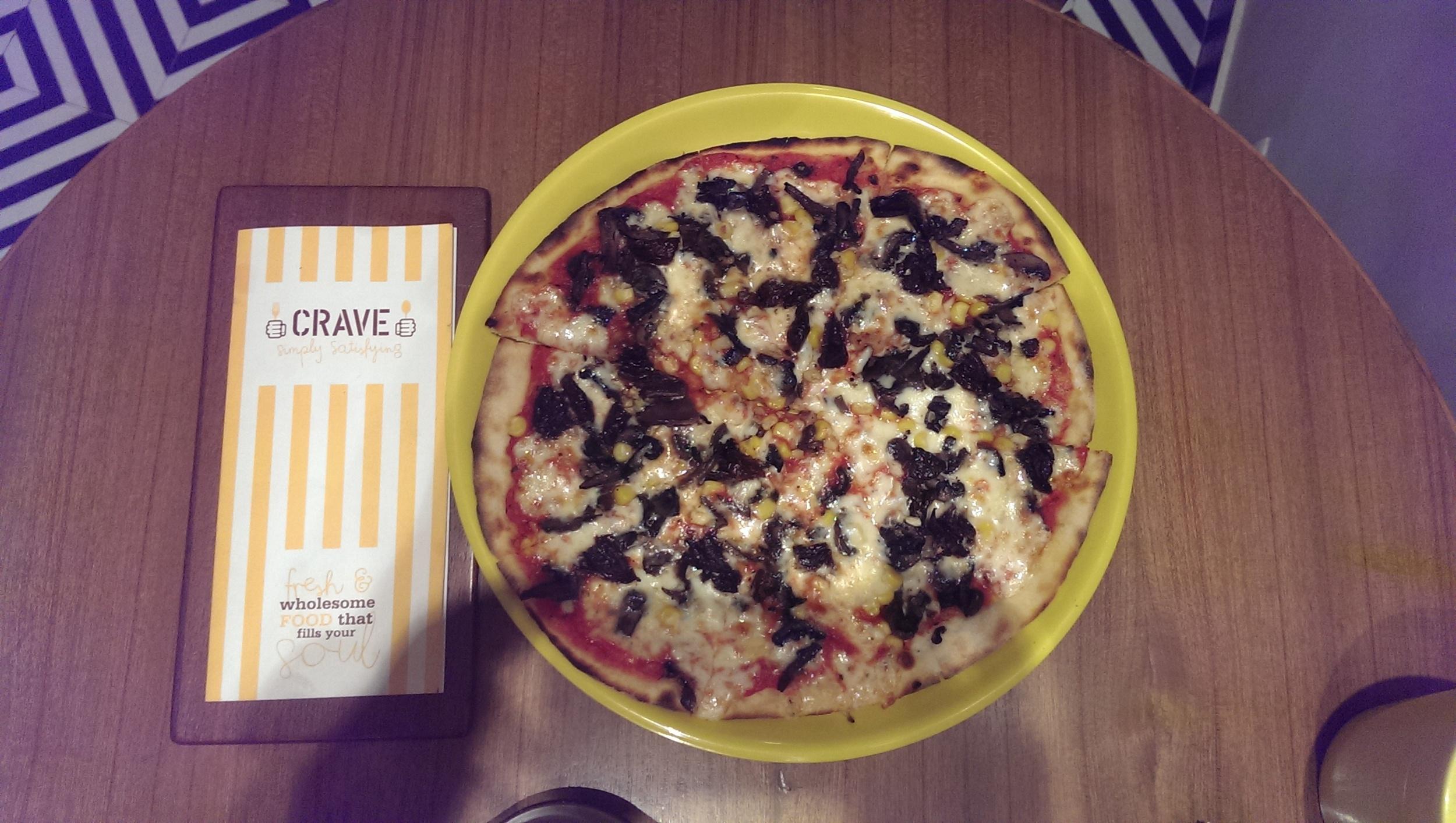 Secret Garden Pizzeria @ Crave, Prabhadevi