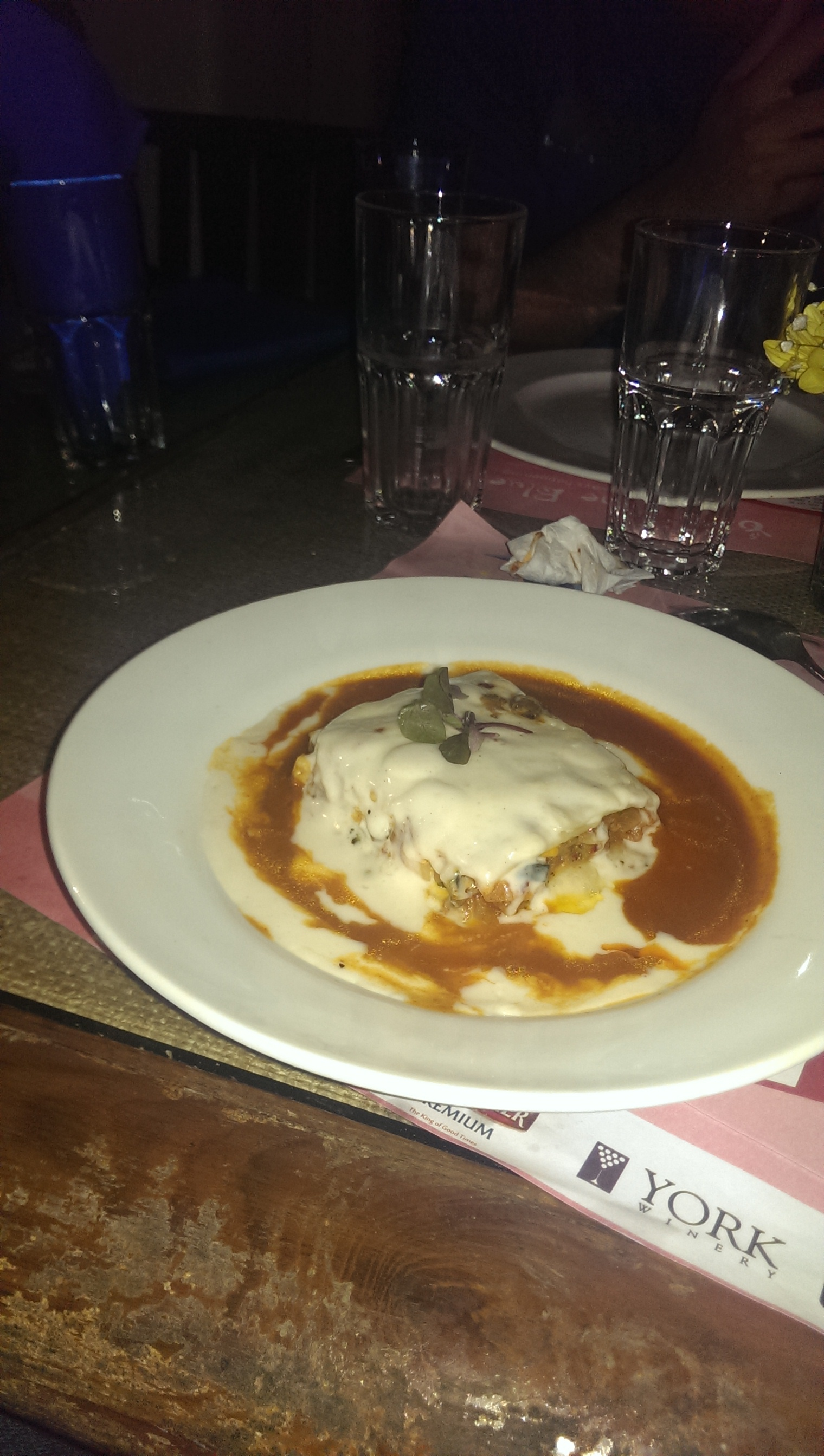 Lasagna @ Out of the Blue, Khar