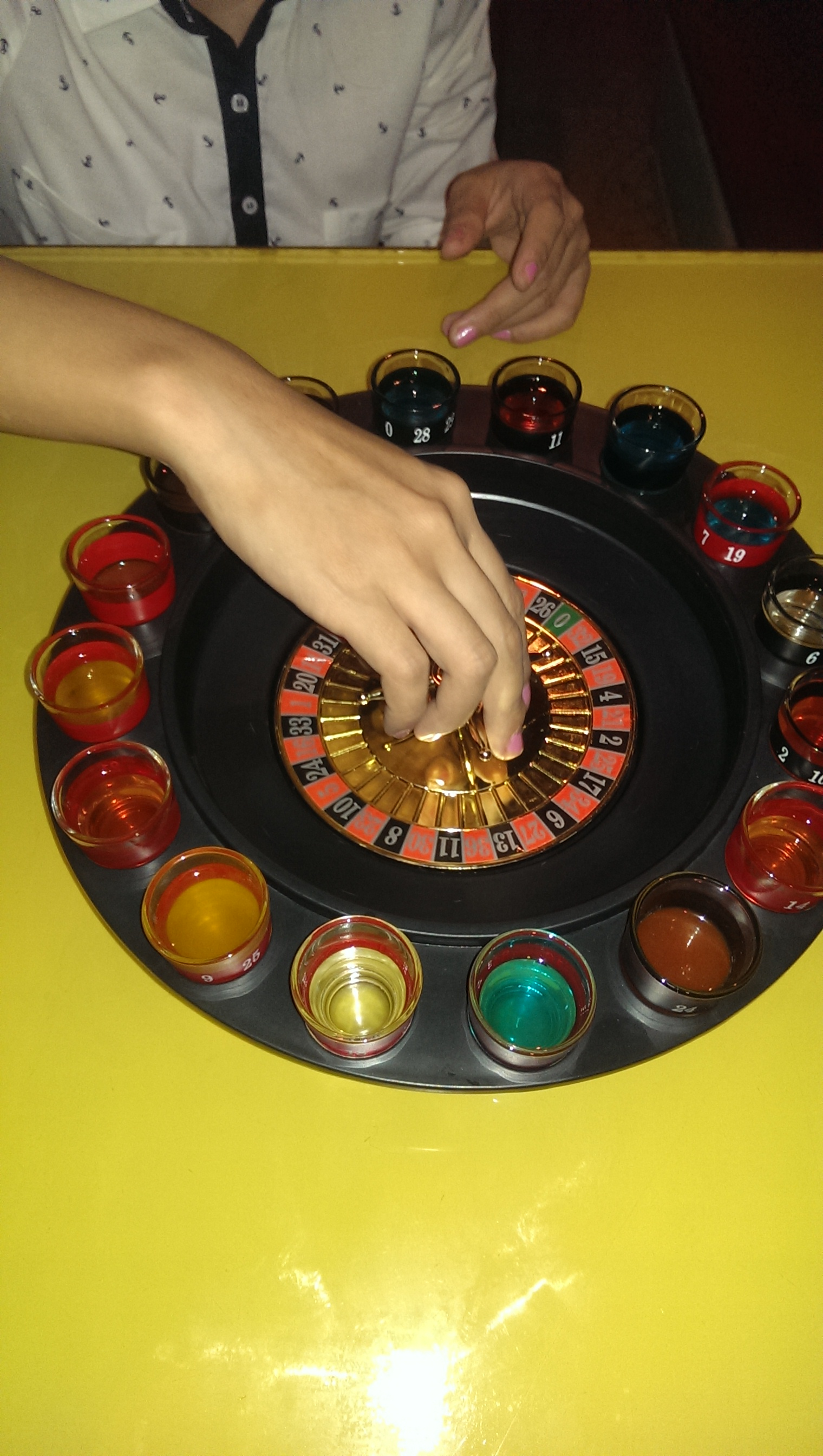 Shot Roulette @ Out of the Blue, Khar