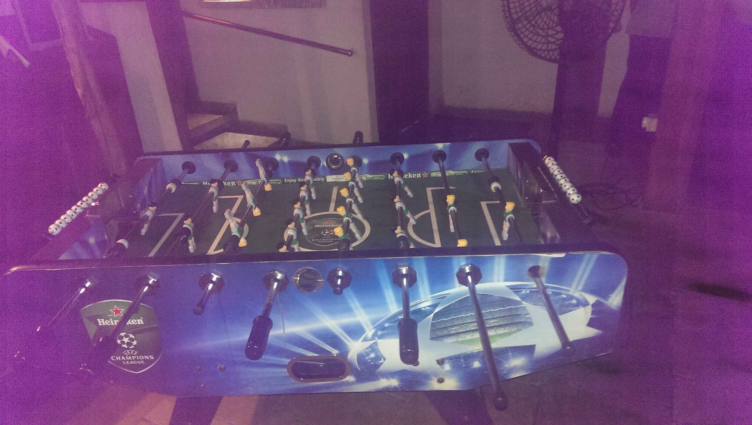Foozball!! @ Out of the Blue, Khar