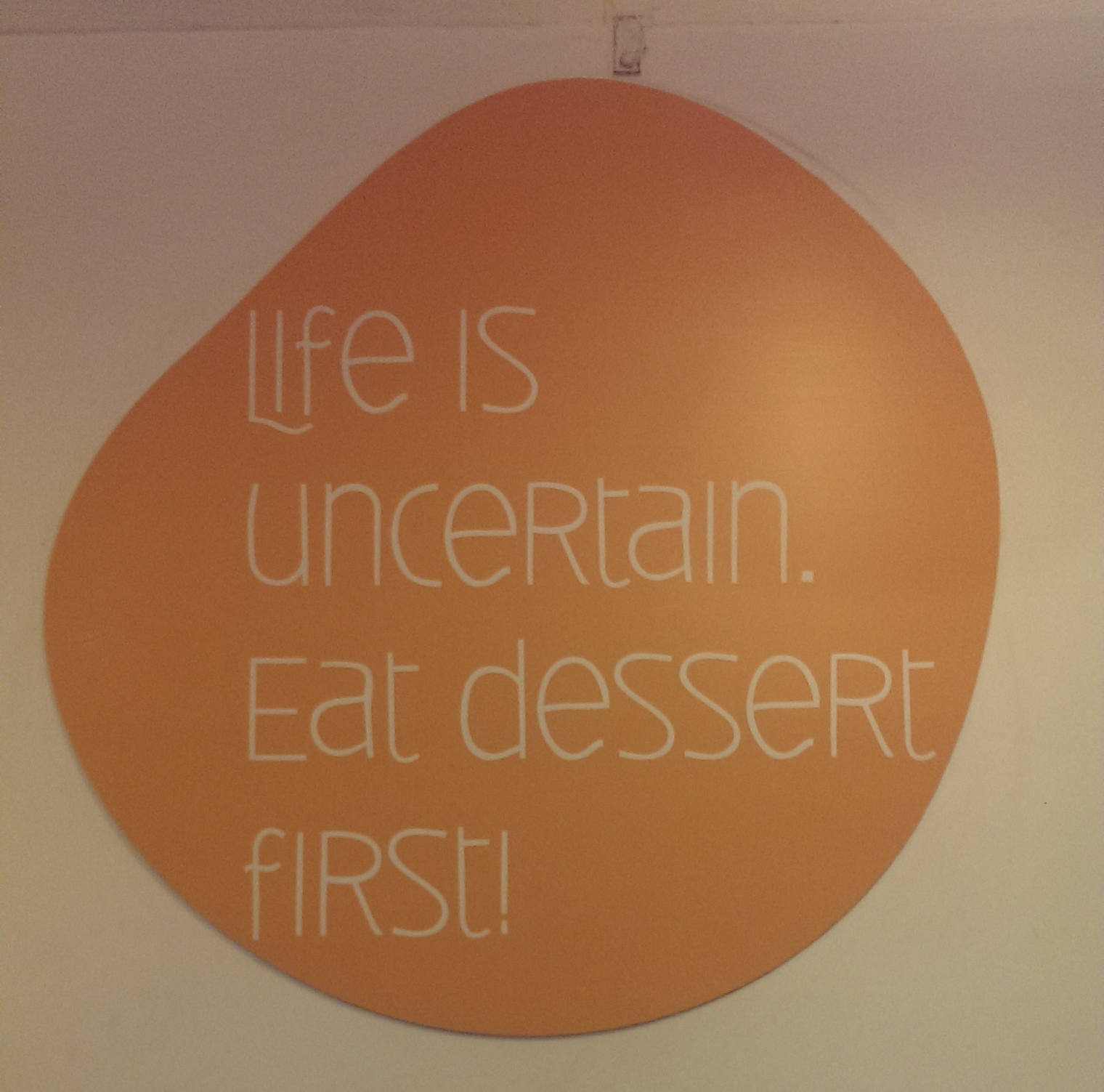 Quote @ Berry'd Alive, Bangalore