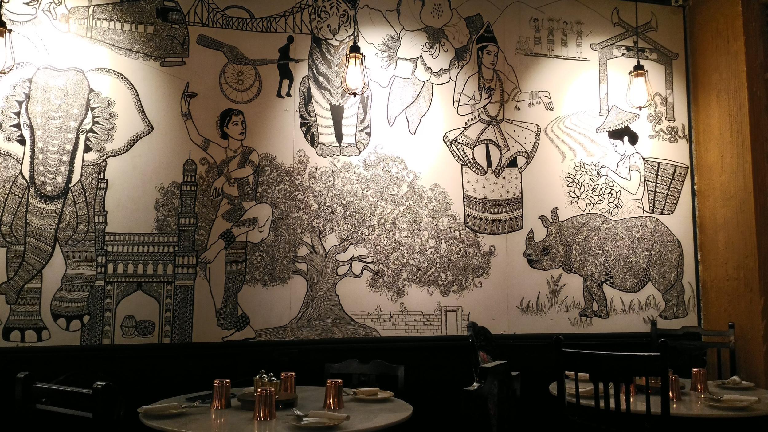 Mural @ Cafe Haqq SE