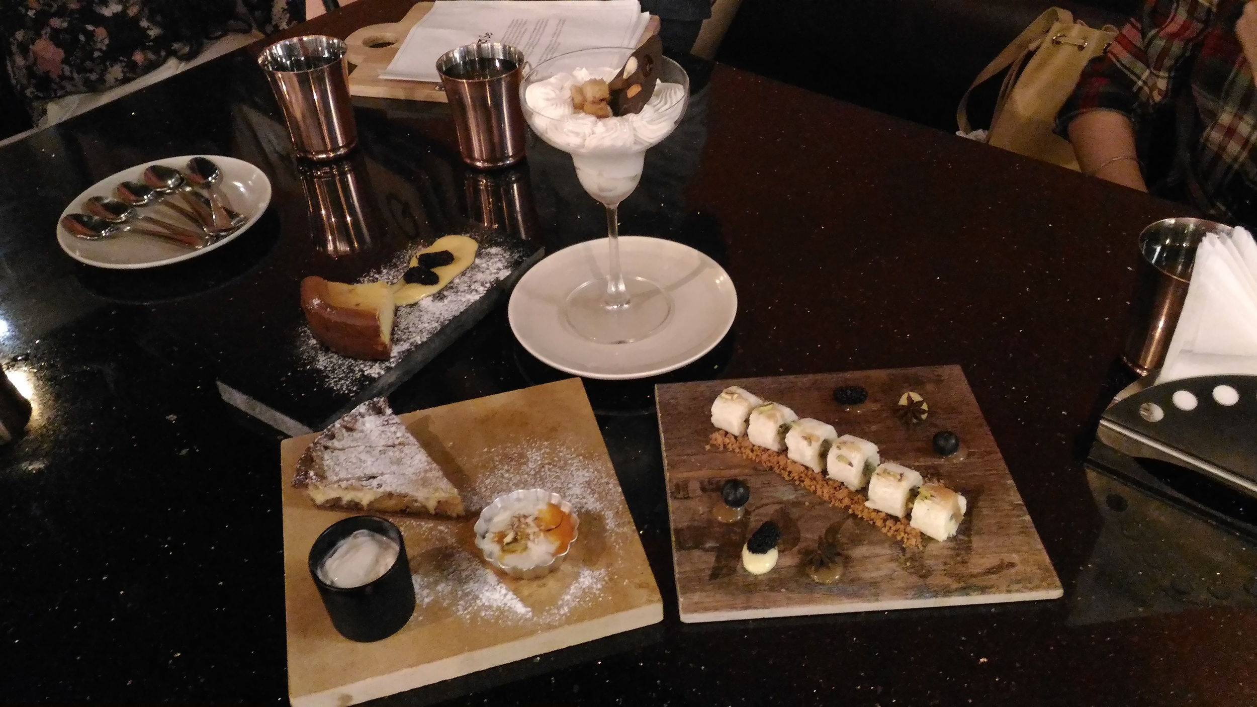 desserts @ Cafe haqq se