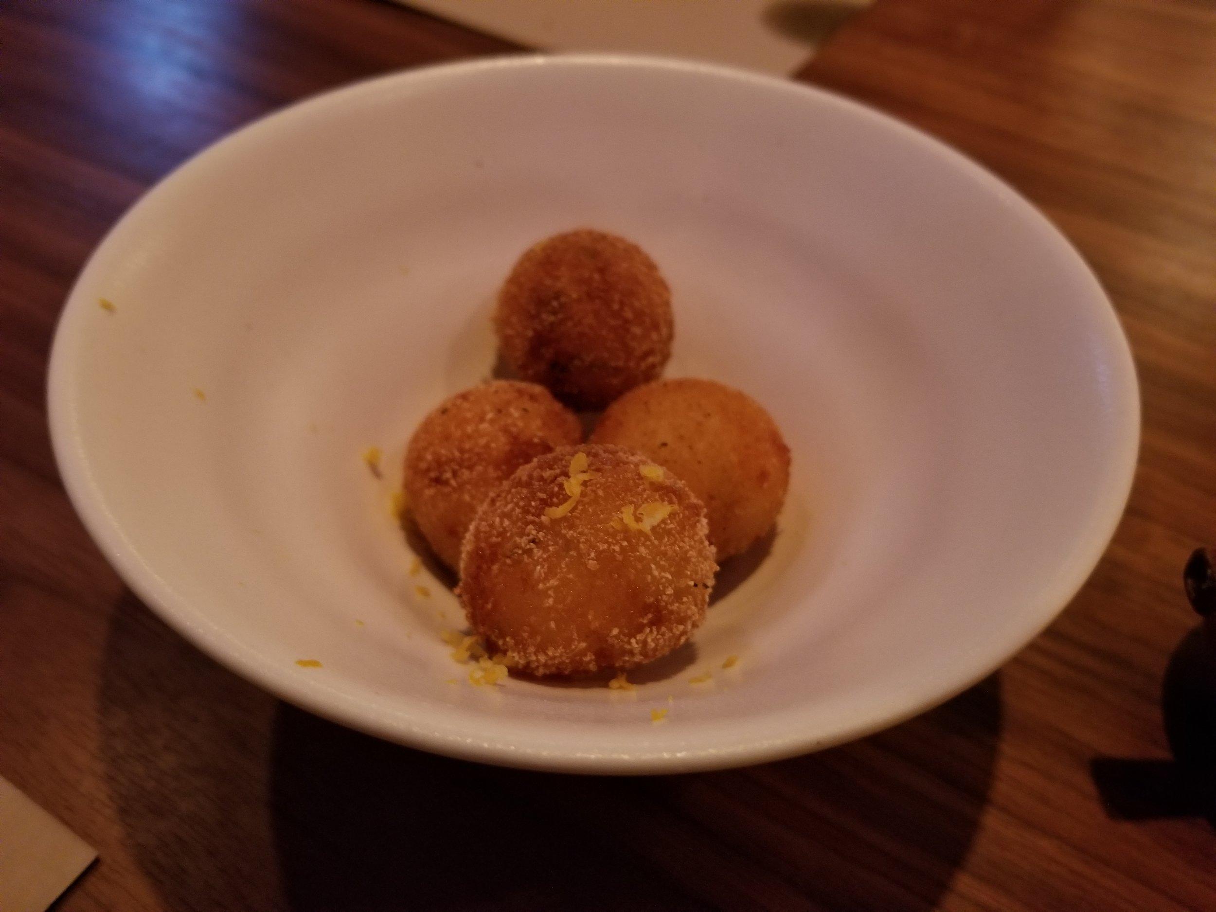 Fontina Cheese Arancini
