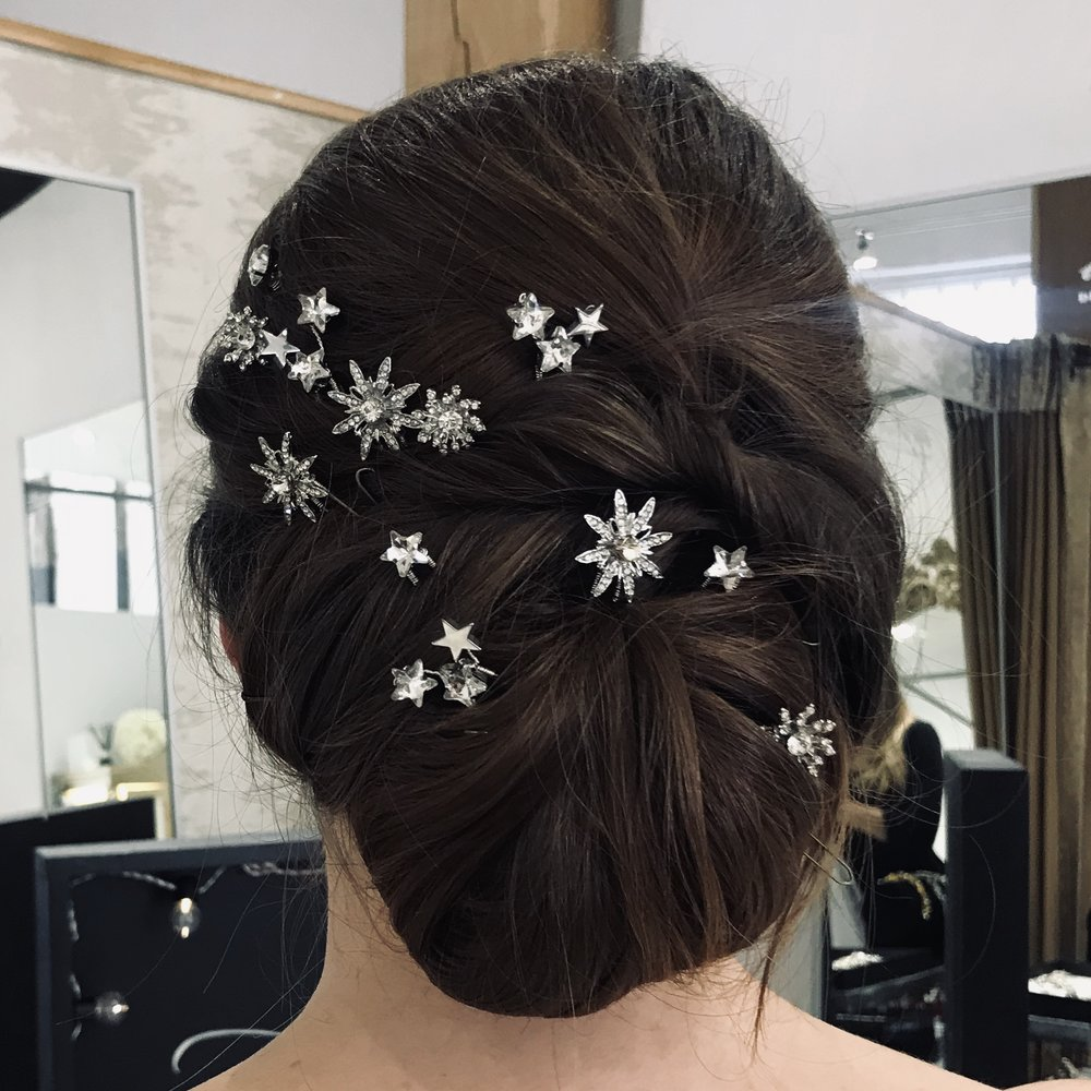starry skies | new — miss clemmie artisan bridal accessories