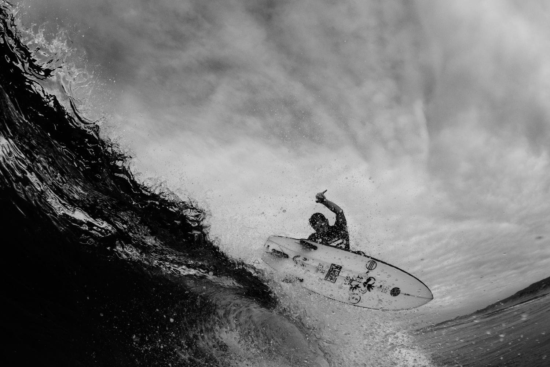 Salt Water x Hayden O'Neill secret spot aerial 2